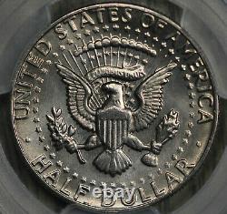 Spectacular 1982-P Kennedy Half Dollar No FG (FS-901) PCGS MS66+