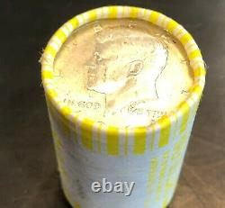 US 90% Silver Kennedy Half Dollar Circulated $10 Face Value Coin Roll Full Dates