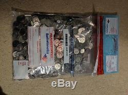 Unsearched Bank Sealed Kennedy Half Dollar Bags