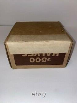Unsearched Kennedy half dollar coin box $500 FV w $1 40% silver READ DESCRIPTION
